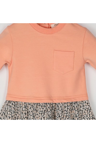 Panço Kız Bebek Elbise 2021GB26024