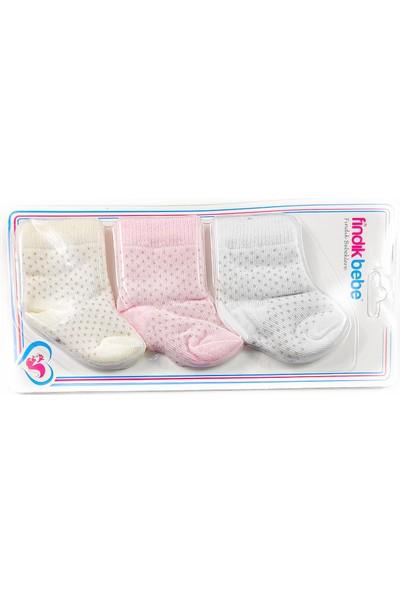Fındık Bebe 3lü Bebek Çorap
