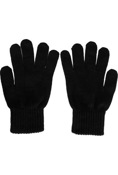 Belifanti Collection Termal Kışlık Yün Eldiven Siyah