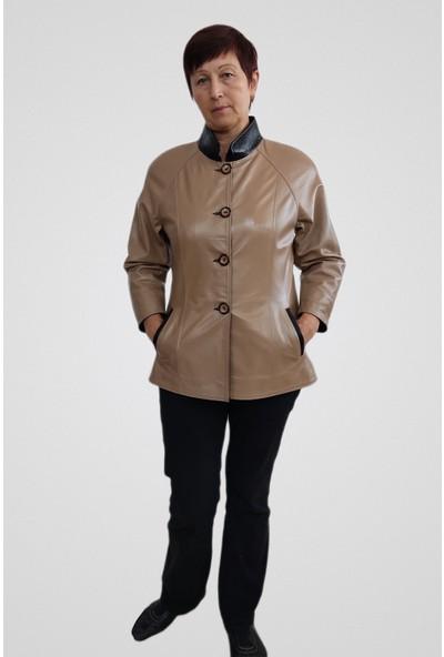 Tannery Leather Kadın Deri Mont Ceket S-1026
