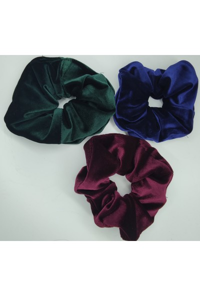 Trend Moda 6 Farklı Renk Kadife Simit Toka