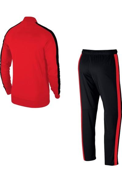 Büyük Beden Erkek Kırmızı Günlük Sporcu Eşofman Takımı 4XL-10XL Tek Bant Şerit - M1