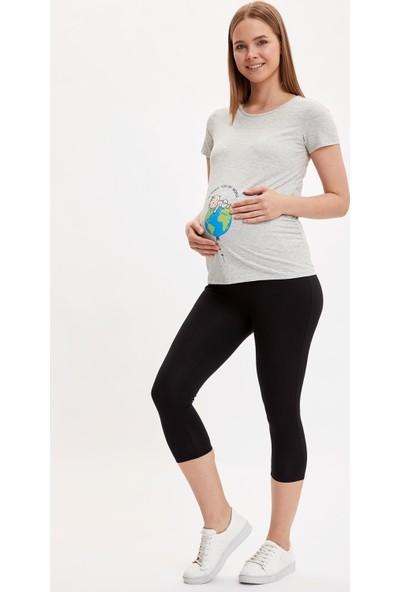 DeFacto Skinny Fit Basic Hamile Taytı R3585AZ20SM