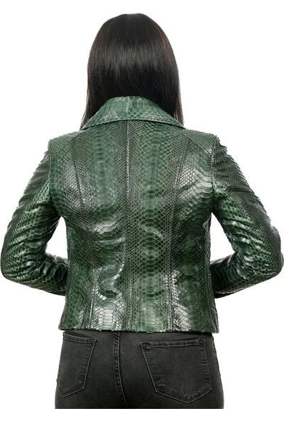 Franko Armondi Kadın Deri Spor Luxury Mont Kopmle Yeşil BK-1149-19379 Fa2