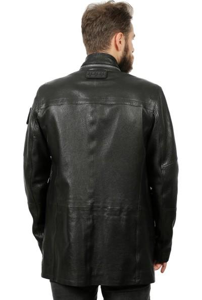 Franko Armondi Erkek Deri Klasik Kaban Siyah U-1320-19363 Fa1