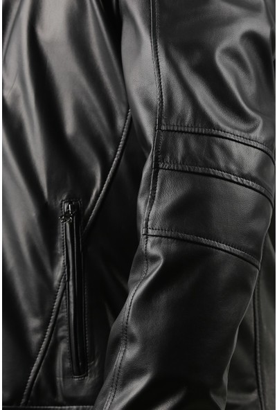 Franko Armondi Erkek Deri Klasik Mont Siyah K-969-18285 Fa1