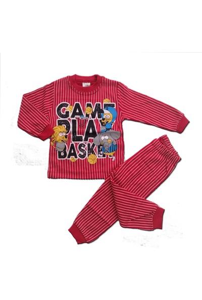 Bavyera Süpermini Kral Şakir Temalı 1-3 Yaş Çocuk Pijama Takımı
