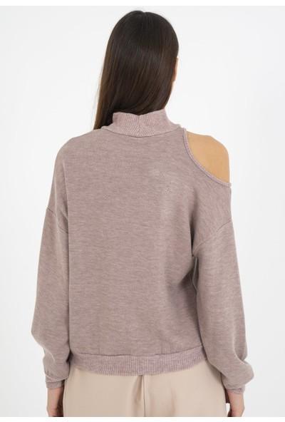Loukai Omuz Detaylı Sweatshirt