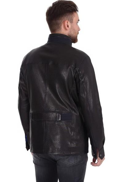 Franko Armondi Erkek Deri Klasik Kaban Siyah K-1401-19576 Fa1