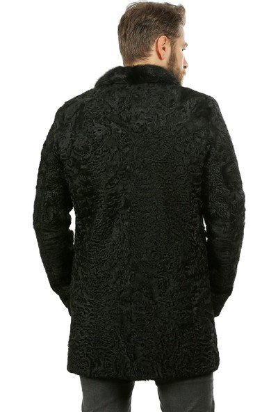 Franko Armondi Erkek Deri Klasik Luxury Kaban Swakara Vizon Siyah K-1023-18480 Fa1