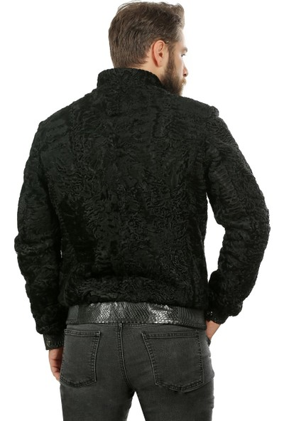 Franko Armondi Erkek Deri Klasik Luxury Mont Beli Lastikli Komple Swacara Siyah Klj-1022-18481 Fa1