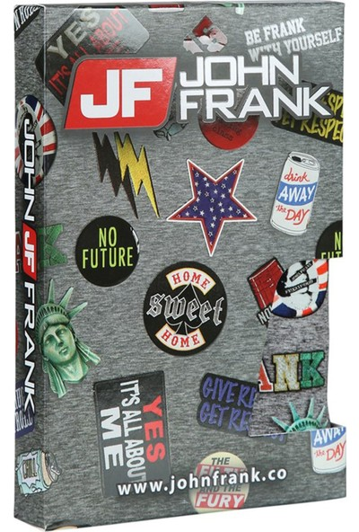 John Frank JFBD200-COOL Dijital Baskılı Erkek Boxer Karma Desenli