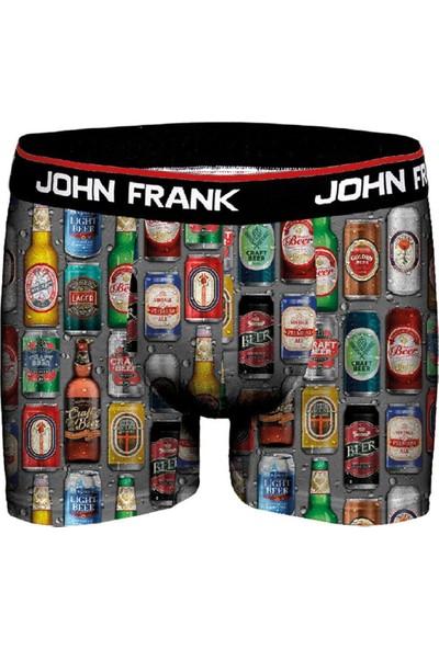 John Frank JFBD313-FRESH Erkek Dijital Boxer Desenli