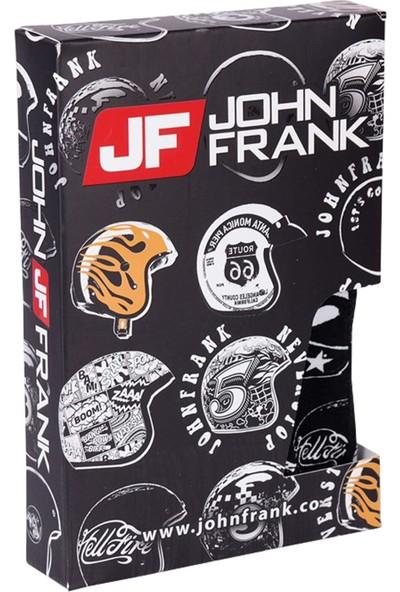 John Frank JFBP150 Never Stop Dijital Baskılı Erkek Boxer Karma Desenli