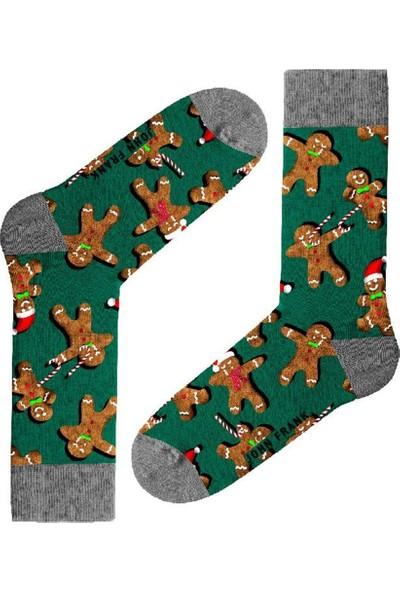 John Frank JFLSFUN-CH11 Fun Erkek Çorap Desenli