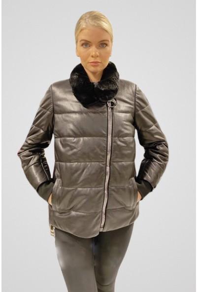 Tannery Leather Kadın Şişme Ceket O-1032