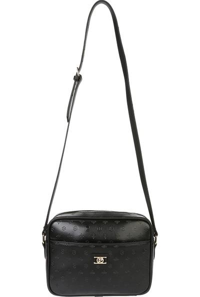 Pierre Cardin Kadın Çanta Siyah Baskılı 05PO16K1303-F S