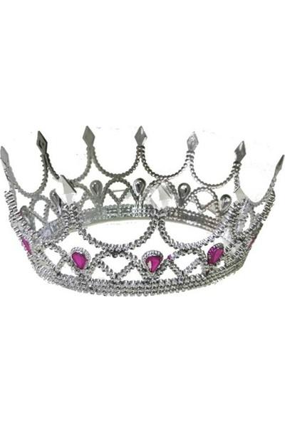 Tam İthalat Kraliçe Tacı Gümüş Renk