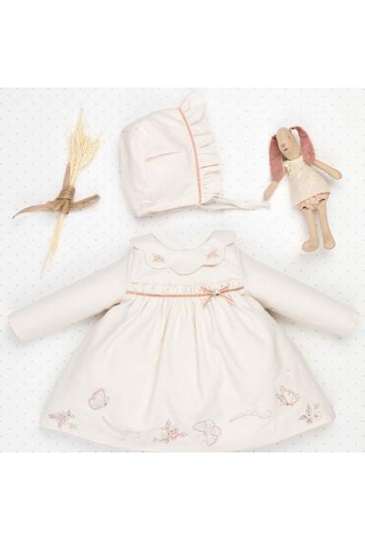 Babydola 2 Parçalı Işlemeli Elbise