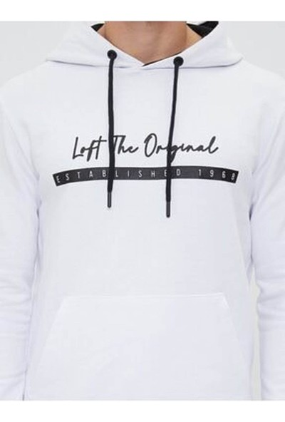 Loft LF2025938 Erkek Sweat White