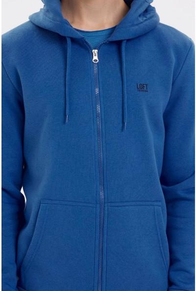 Loft LF2023027 Loft Erkek Sweat Electrıc Blue