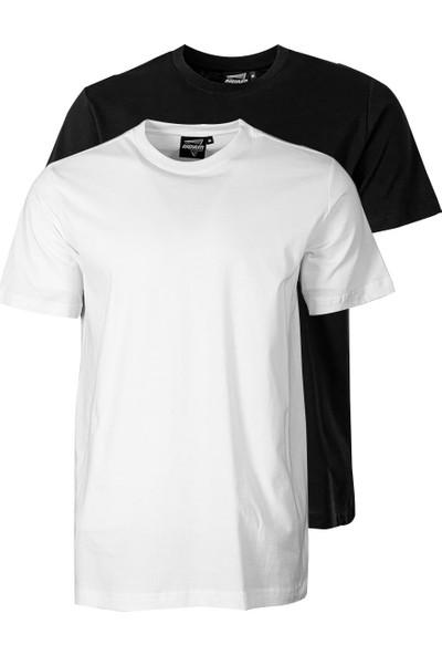 Radyum Sıfır Yaka T-Shirt 2'li Paket