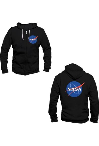 Vectorwear Nasa Fermuarlı Sweatshirt