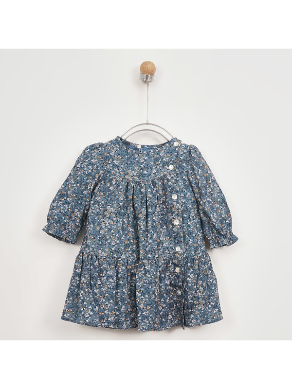 Panço Kız Bebek Elbise 2021GB26021