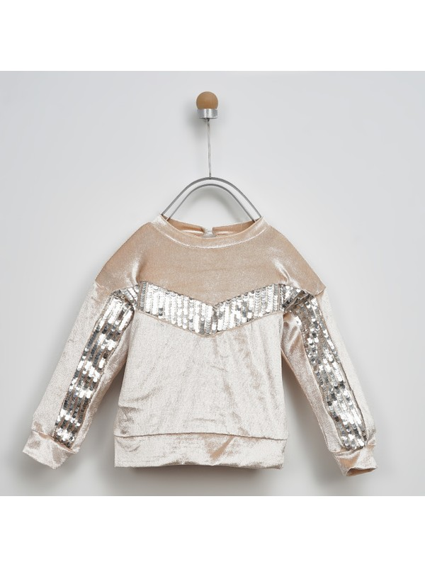 Panço Kız Çocuk Sweatshirt 2021GK08002