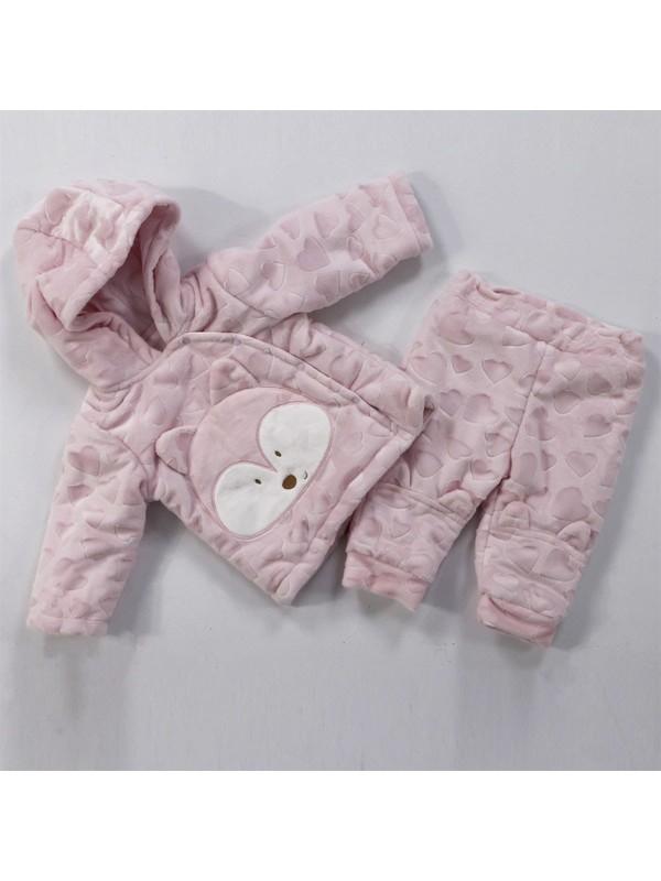 Bi Baby Özel Hasas Doku Cute Fox 2.Li Kışlık Takım 1462