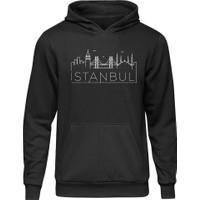 Fandomya Legend City Istanbul Siyah Kapşonlu Hoodie