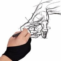 Huzur Grafikerler Için Profesyonel Grafik Tablet Çizim Eldiveni