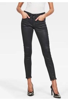 G-Star Raw D16095.B472.B154 Lynn 2 - Zip Mid Skinny Ankle Wmn Kadın Kot Pantolon