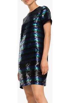 Tommy Hılfıger Kadın Elbise WW0WW24125052 D002500 - Siyah