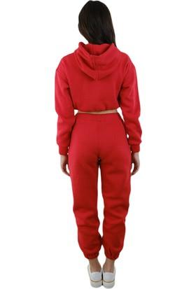 Mahzen Moda Kırmızı Eşofman Takımı