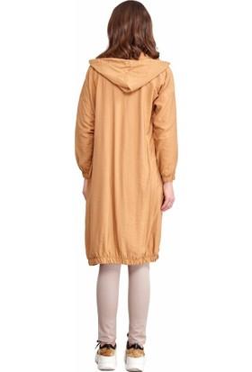 Şamdan Kadın 8168 Hardal Tunik
