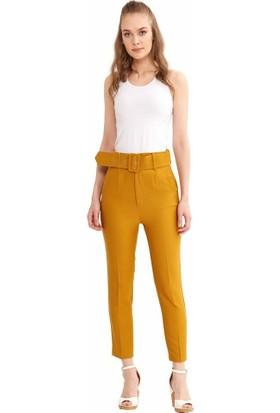 Şamdan Kadın 5105 Taba Pantolon