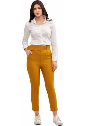 Şamdan Kadın 5105 Toprak Pantolon