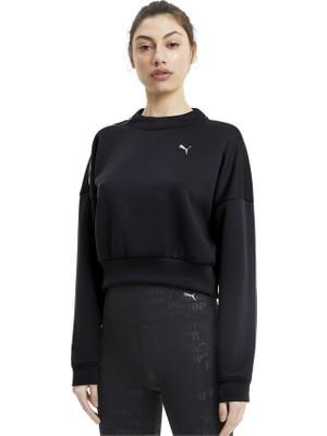 Puma Train Kadın Sweatshirt - Siyah
