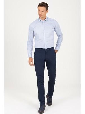 Hatemoğlu Lacivert Basic Regular Pantolon