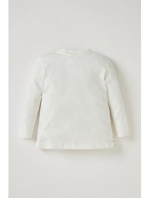 Defacto Kız Bebek Tavşan Baskılı Tişört T0075A220WN