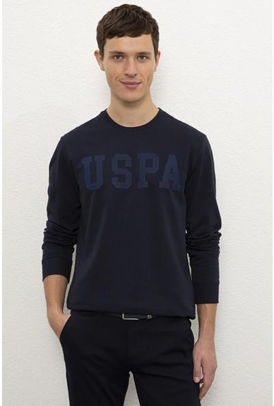 U.S. Polo Assn. Erkek Lacivert Sweat Shirt 50225482-Vr033