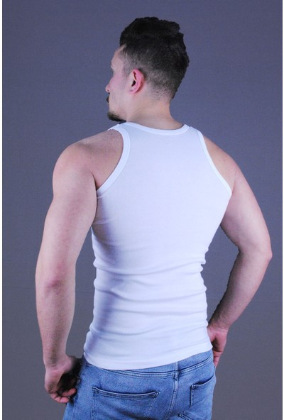 Solfej Erkek Ribana Atlet Beyaz