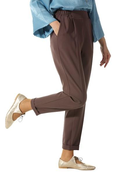 ALLDAY Beli Lastikli Pantolon