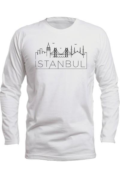Fandomya Legend City Istanbul Beyaz Long Sleeve