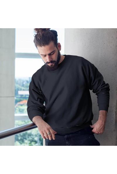 Fandomya Legend City Istanbul Siyah Sweatshirt