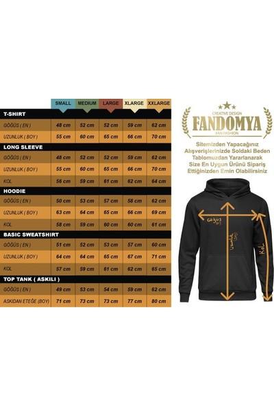 Fandomya Legend City Newyork Gri Sweatshirt