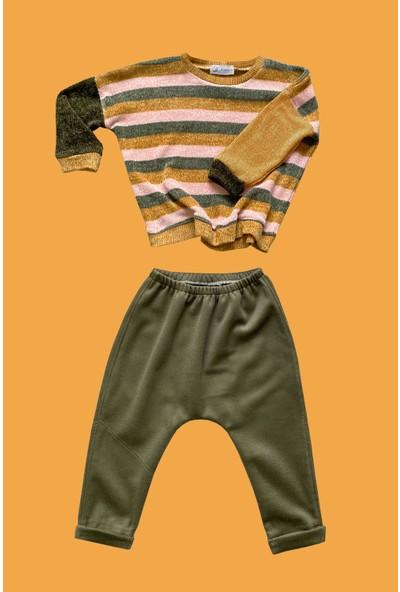 Özgür Yağmur Erkek Bebek Çocuk Triko Sweathsırt Pantolon Takım