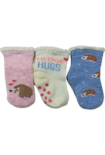 Step 3'lü Kaydırmaz Tabanlı Bebek Çorabı 10126