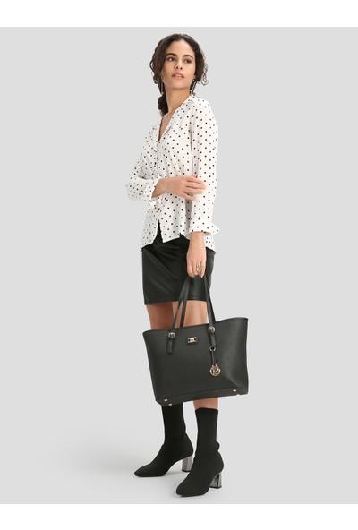 Pierre Cardin Kadın Çanta Siyah 05PO16K1374-PO S